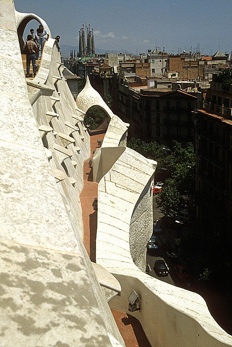 Casa Milà: Dach Barcelona