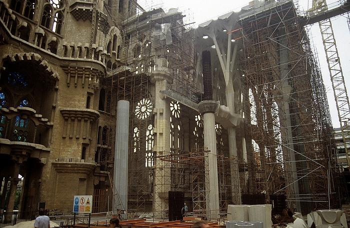 Sagrada Familia (Temple Expiatori de la Sagrada Família) Barcelona 1996