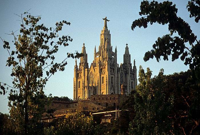 Tibidabo: Sagrat Cor (Temple expiatori del Sagrat Cor) Barcelona