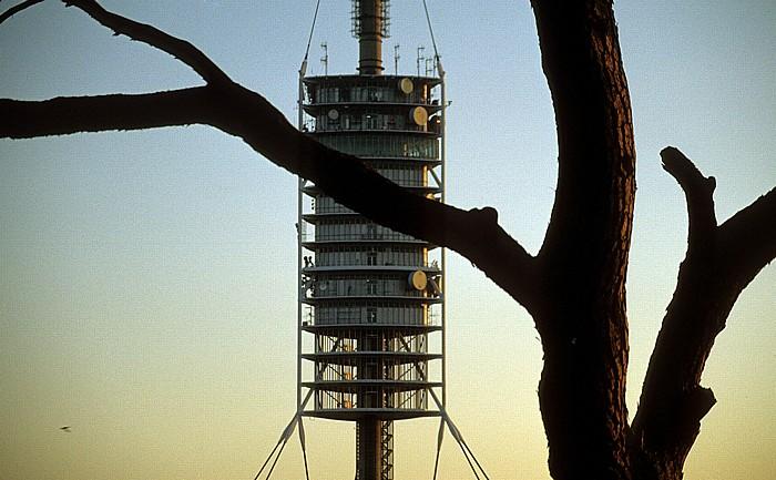 Tibidabo: Fernsehturm Torre de Collserola Barcelona