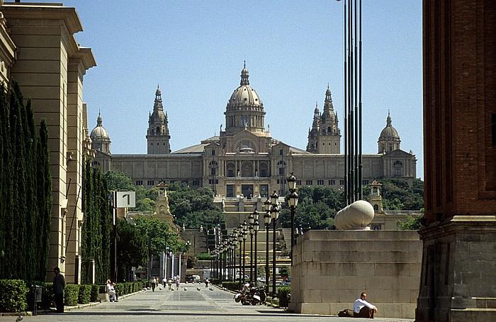 Fira de Barcelona, Palau Nacional (Museu Nacional d'Art de Catalunya) Barcelona 1996