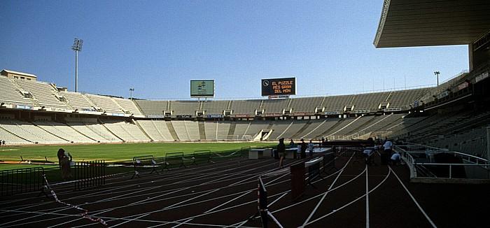 Olympiastadion (Estadi Olímpic Lluís Companys) Barcelona