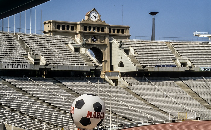 Olympiastadion (Estadi Olímpic Lluís Companys) Barcelona 1996