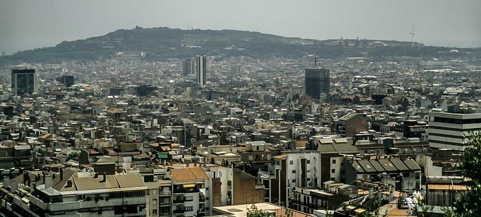 Blick vom Parc Güell Barcelona 1996