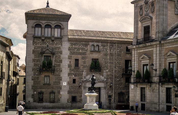 Plaza de la Villa: Casa de Cisneros Madrid 1996