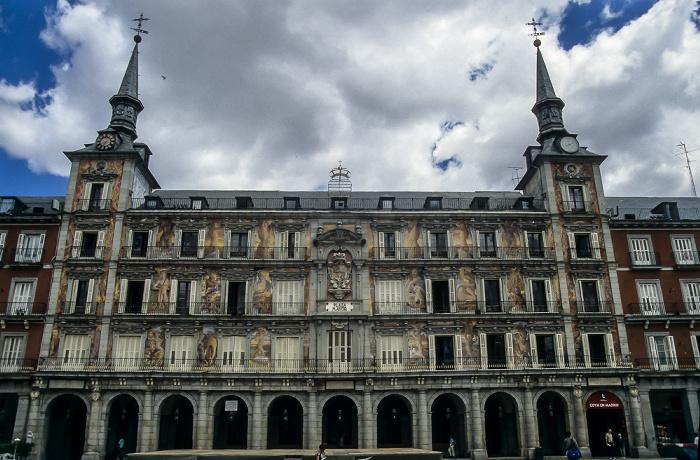 Plaza Mayor: Casa de la Panadería Madrid 1996