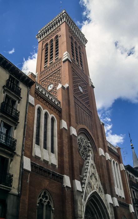 Calle de Atocha: Iglesia de la Santa Cruz Madrid 1996