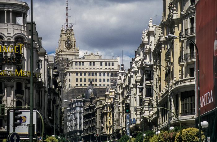 Gran Vía Madrid 1996