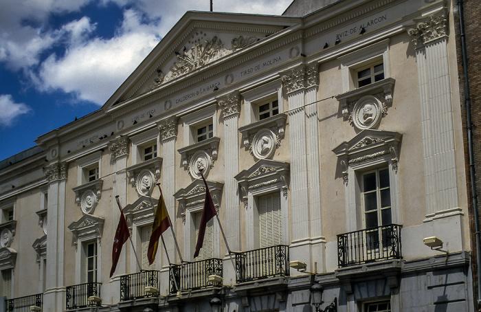 Calle del Príncipe: Teatro Español Madrid 1996