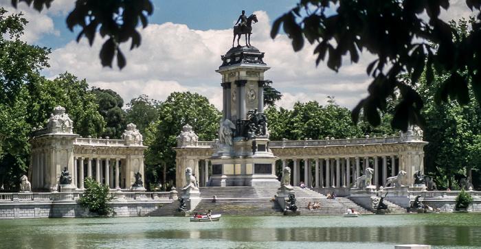Rund um den Parque del Retiro Madrid
