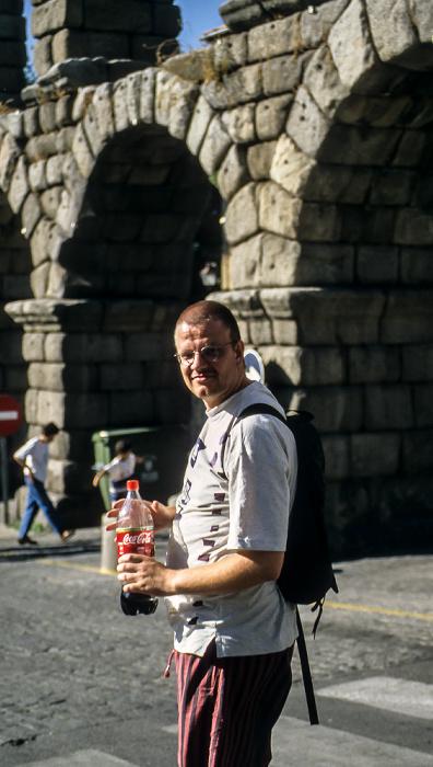 Römisches Aquädukt: Jürgen Segovia 1996