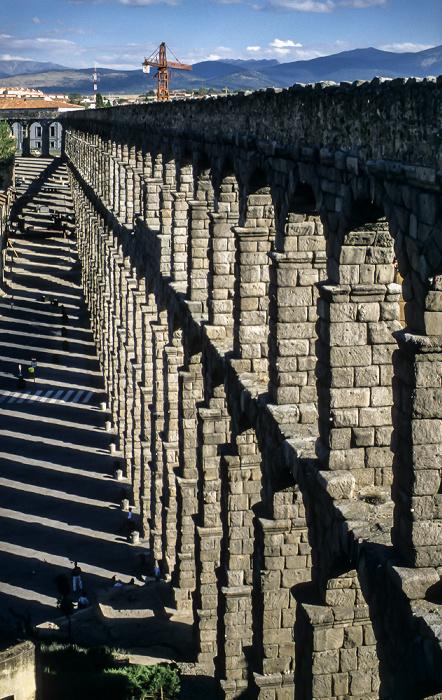 Römisches Aquädukt Segovia 1996