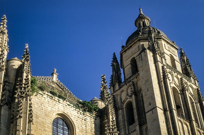 Centro Histórico: Catedral de Santa María de Segovia Segovia 1996