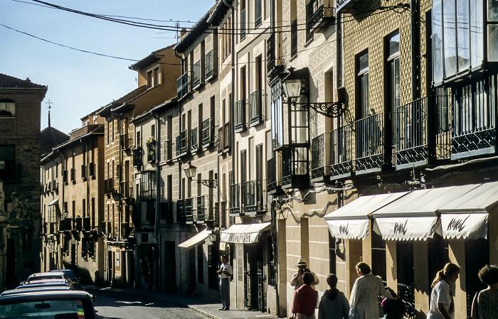 Centro Histórico: Calle Marqués del Arco Segovia 1996