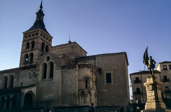 Centro Histórico: Iglesia de San Martín Segovia 1996