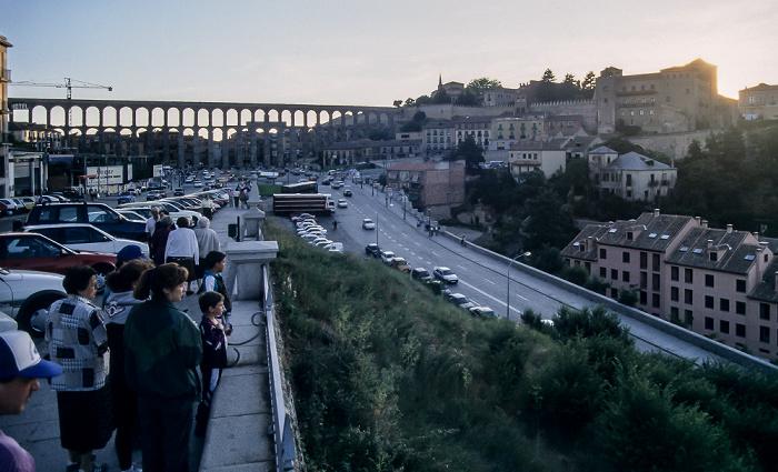 Rund um das römische Aquädukt Segovia