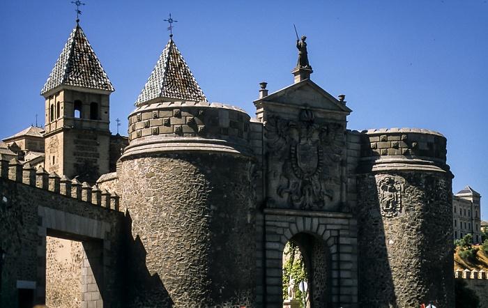 Centro Histórico: Puerta Nueva de Bisagra Toledo 1996