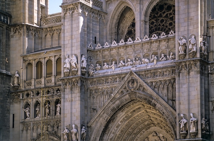 Centro Histórico: Plaza del Ayuntamiento - Catedral de Santa María de Toledo Toledo 1996