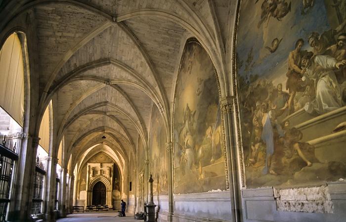 Catedral de Santa María de Toledo: Kreuzgang Toledo 1996