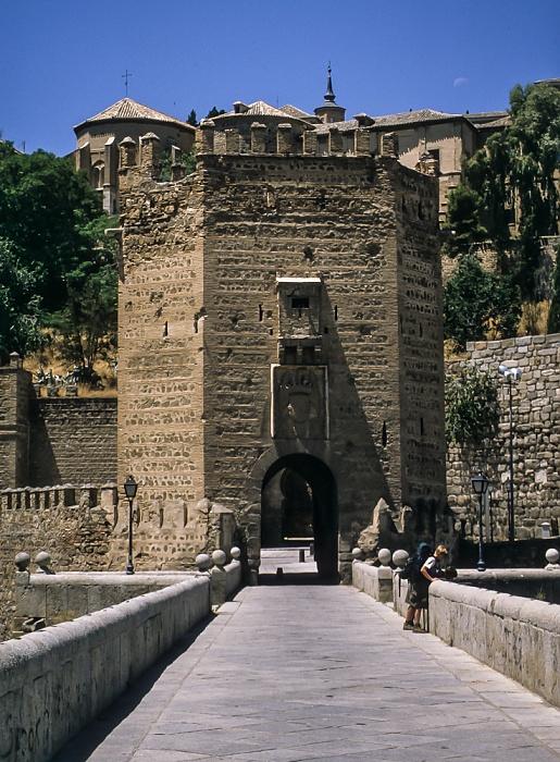 Puente de Alcántara und Puerta de Alcántara Toledo 1996