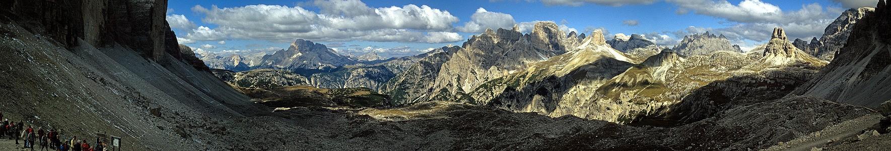 Sextener Dolomiten Von den Drei Zinnen zum Toblinger Knoten