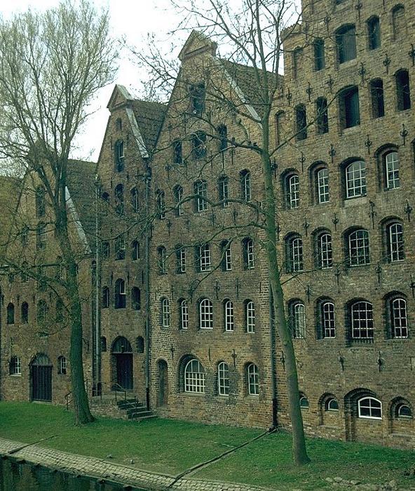 Lübeck Salzspeicher Altstadt