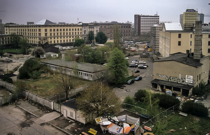 Blick von der Info-Box Potsdamer Platz Berlin 1997