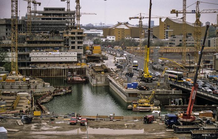 Potsdamer Platz: Baustellen Berlin 1997