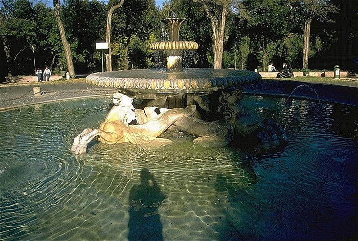 Villa Borghese: Brunnen Rom