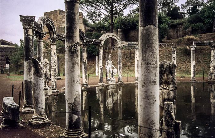 Tivoli Hadriansvilla: Canopos