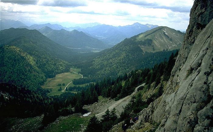 Roßstein Blick nach Westen