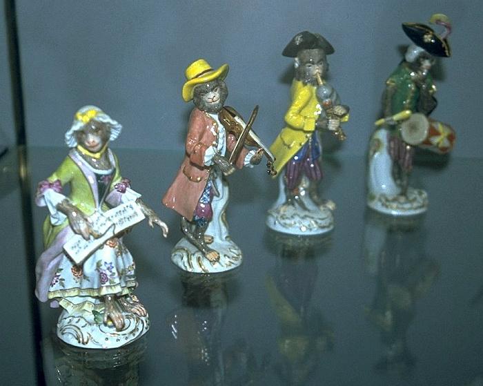 Meißen Porzellan-Manufaktur: Porzellanfiguren