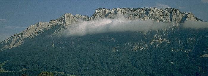 Kaisergebirge Zahmer Kaiser mit Pyramidenspitze