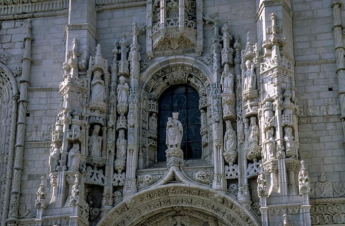 Belém: Mosteiro dos Jerónimos - Südportal Lissabon 1998