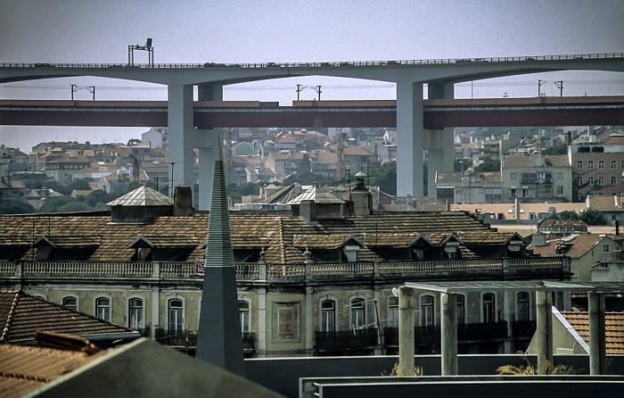 Alcântara: Ponte 25 de Abril Lissabon 1998