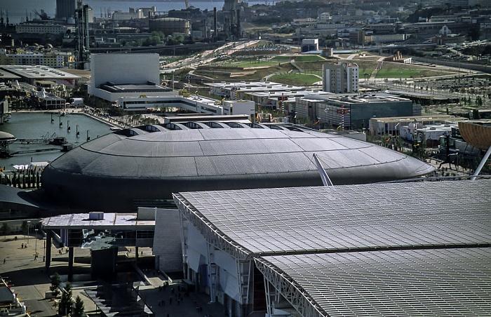 Blick vom Torre Vasco da Gama: EXPO '98 Lissabon 1998