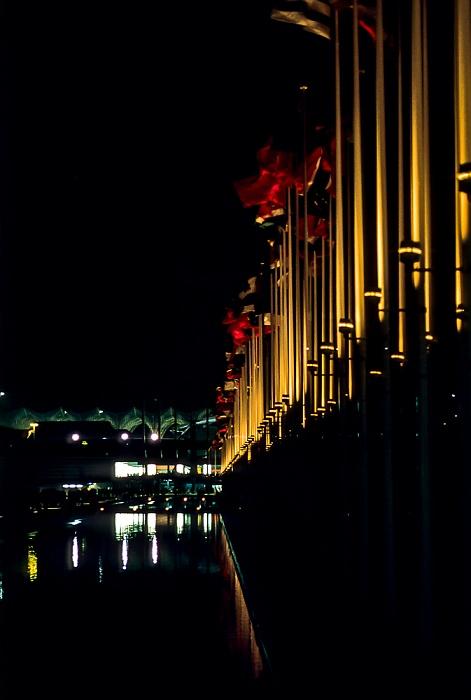 EXPO '98: Flaggen der teilnehmenden Staaten Lissabon 1998