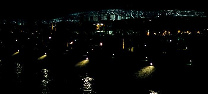 Lissabon EXPO '98: Tejo-Ufer, nördliche Ausstellungshallen