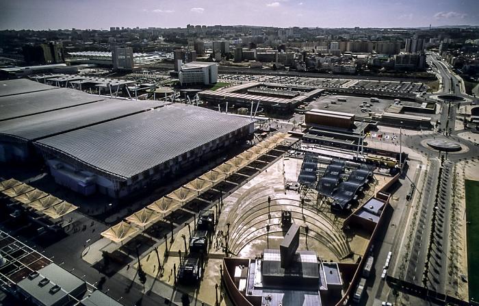Lissabon Blick vom Torre Vasco da Gama: EXPO '98