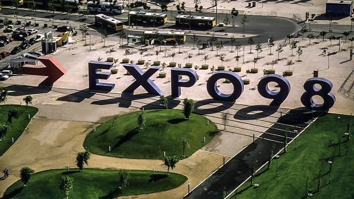 Lissabon EXPO '98: Blick vom Torre Vasco da Gama