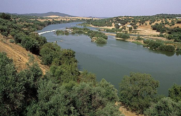 Alentejo Rio Guadiana (westlich Mourâo)