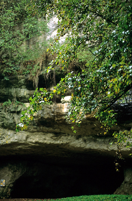 Ailsbachtal Sophienhöhle: Eingang
