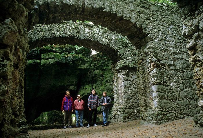 Sanspareil Felsengarten: Ruinentheater
