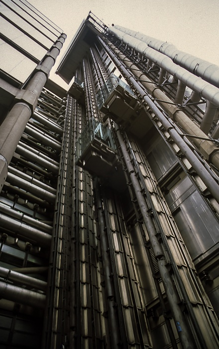 City of London: Lloyd's of London Building London 1998