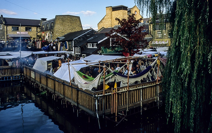 Camden Town: Camden Lock Market London 1998