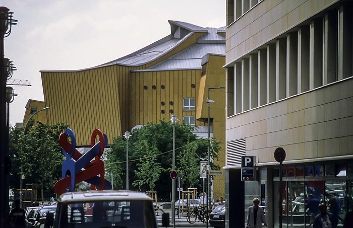 DaimlerChrysler-Areal: Voxstraße Berlin 1999