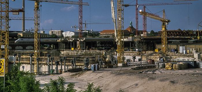 Hauptbahnhof (Baustelle) Berlin 1999