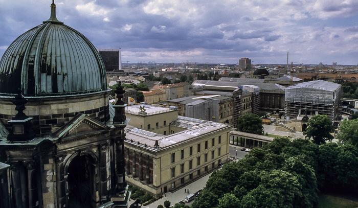 Blick vom Berliner Dom: Museumsinsel Berlin 1999