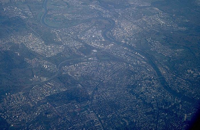 Frankfurt am Main Luftaufnahme