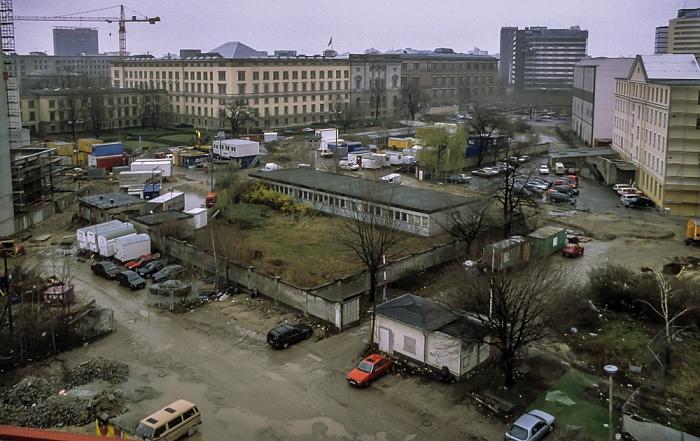 Blick von der Info-Box Potsdamer Platz Berlin 2000